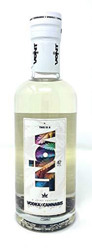Vodka VOINT, Vodka & Cannabis - Reinster regionaler Vodka aus dem Taunus mit feinsten Bio-Cannabis-Samen, 40{a21f6081a16dfa023dde95c2ae7fcb20cf70d473712c9d0fa7f0a5213cec018f} Vol. (1x0,5l)