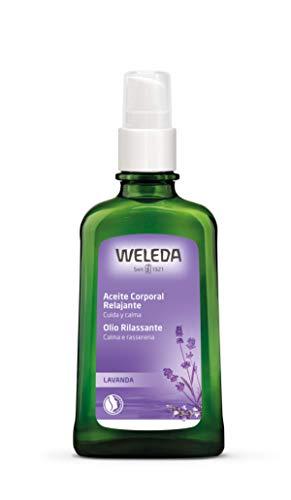 Weleda Relaxing Lavender Body & Beauty Oil, 3.4 Fluid Ounce, Clear