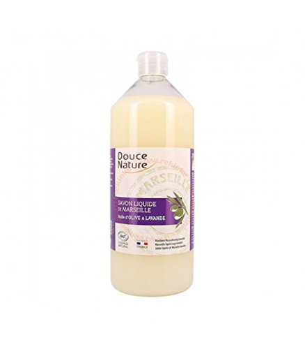 Savon de Marseille liquide, à l'huile essentielle de lavandin bio