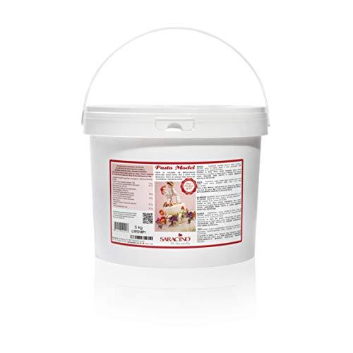 Saracino Fondant Model Weiß Zum Modellieren 5 kg Glutenfrei Made In Italy