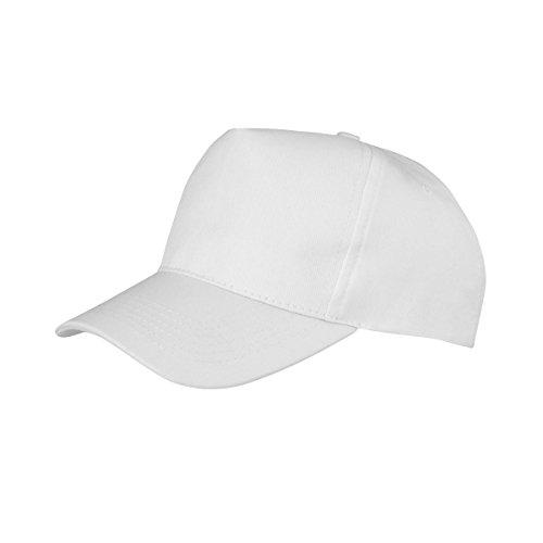 Result Boston - Casquette - Adulte Unisexe (Taille Unique) (Blanc)