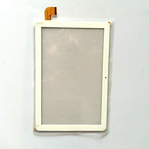 """EUTOPING Blanco Color Nuevo 10.1 Pulgadas Pantalla tactil Digital La sustitución de para 10.1"""" SPC Gravity Pro 9768332B"""