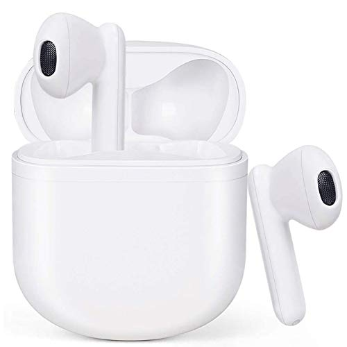 Cuffie Bluetooth Auricolare Senza Fili Bluetooth 5.0 Microfono in-Ear Integrato Riduzione del Rumore Stereo HI-FI, può Riprodurre 40 ore, Il Controllo Touch IPX5 è Adatto per iPhone Samsung Huawei