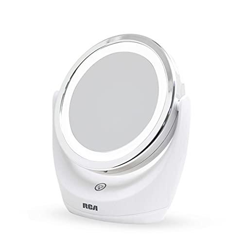 RCA Espejo para Maquillaje Giratorio con Luz Led RC-E1