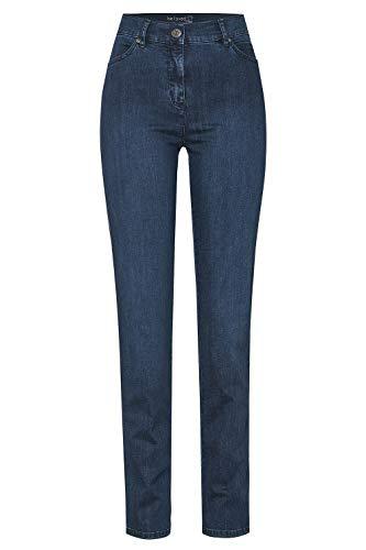 TONI Damen 5-Pocket-Jeans »be Loved« mit hoher Leibhöhe 42 darkblue