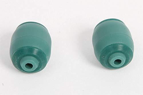 2 hochwertige Rollen, Frontrollen, Rädchen, Ersatzräder, passend für Vorwerk Teppichbürste EB360, EB370 Ersatzrad Rad Rolle Laufrolle Ersatzrad - Hervorragende Qualität