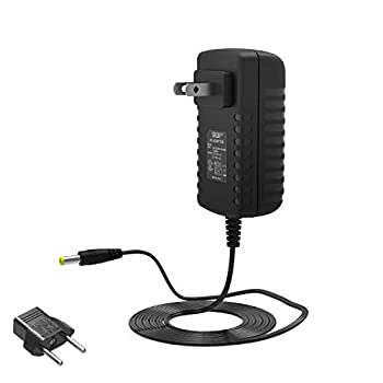 HQRP 6V AC Adapter Compatible with Akai Professional MP6-1 MPD24 MPD26 MPD32 Control Unit Controller Power Supply Cord Adaptor [UL Listed] + Euro Plug Adapter