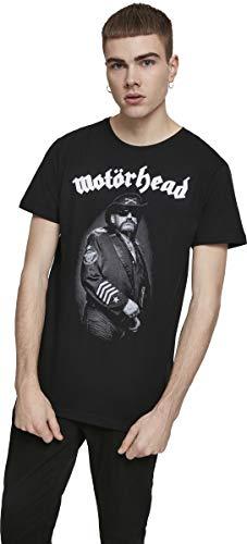 MERCHCODE Herren Motörhead Lemmy Warpig T-Shirt, Black, L