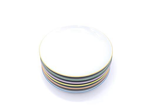 Arzberg CUCINA COLORI 6 x Suppenteller Teller 22 cm 6 Farben NEU 1.Wahl
