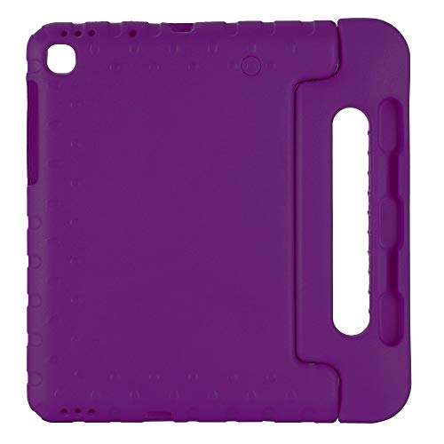 QiuKui Tab Cover Case for Samsung Galaxy Tab S6 Lite SM- P610 P615 10.4 inch 2020 hand-held nontoxic Shock Proof EVA cover stand case for kids (Color : Purple, Size : TAB S6 LITE SM P610)