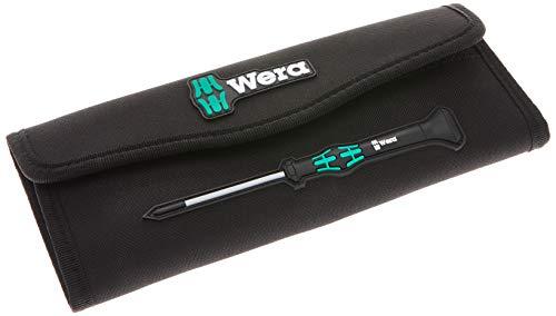Wera 05671385001 Falttasche für bis zu 12-teilige Kraftform Kompakt Micro Sätze, leer, 235 x 115 mm