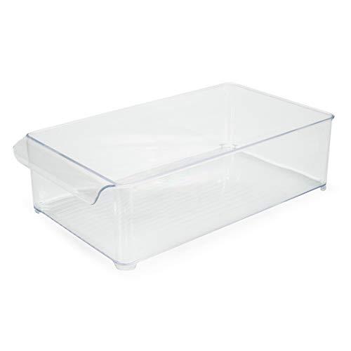 Organizador Geladeira - Gaveta - Diamond Cristal 37,5x21x5,5cm - Paramount