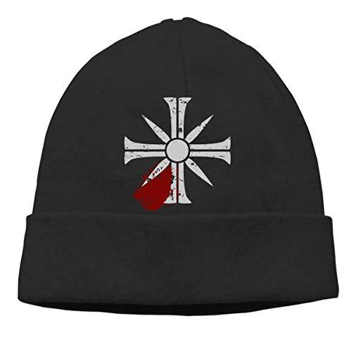 Price comparison product image TAOTOUMAO 'Eden's Gate Bloodsplat Far-Cry5 Design' Unisex Knit Beanie Hat Black