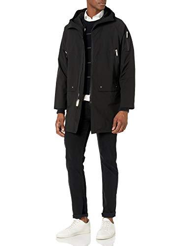 Karl Lagerfeld Paris Herren Anorak, schwarz, Medium