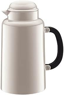 Bodum 10886-913TL Chambord Thermo Jug, 34 oz, White
