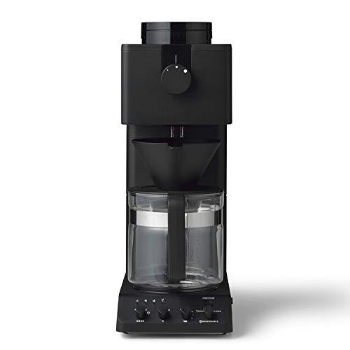 ツインバード 全自動コーヒーメーカー CM-D465B 6カップ用 ミル付き