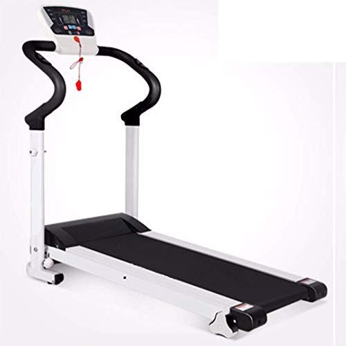 Runningmachine1121 Plegable eléctrico motorizado 500 W Cinta de correr caminando, tranquilo, plegable, cinturón de caminata ultra ancho, con sensor de frecuencia cardíaca, máquina for caminar con una