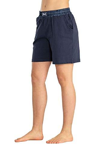 Everlast Heavy Jersey - Pantalones cortos para mujer azul navy S