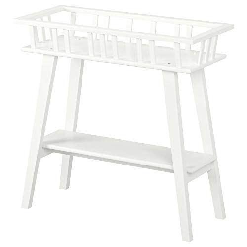 My- Stylo Collection - Soporte para Plantas, Color Blanco, tamaño del Producto: 74 cm, Ancho 32 cm, Altura 68 cm, Carga máxima: 100 kg