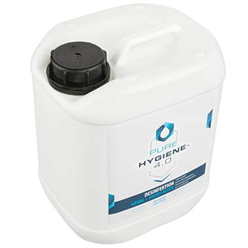 PURE Hygiene 4.0 - Desinfektionsmittel für Hände und Oberflächen - Schützen Sie Ihre Hände vor Bakterien und speziellen Vieren (Neu 5L)