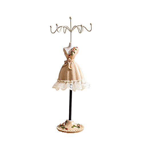JenlyFavors 15 Inch Gold Decorative Wire Dress Form Mannequin Centerpieces