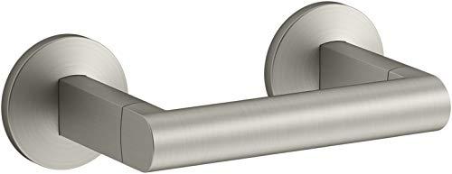 Kohler K-78382-BN Components Toilet Paper Holder, Vibrant Brushed Nickel