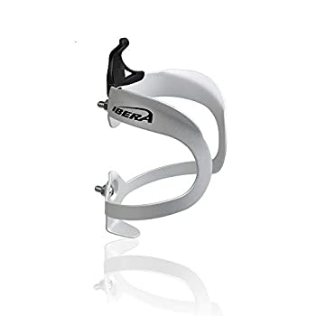 Ibera Bicycle Lightweight Aluminum Water Bottle Cage Silver