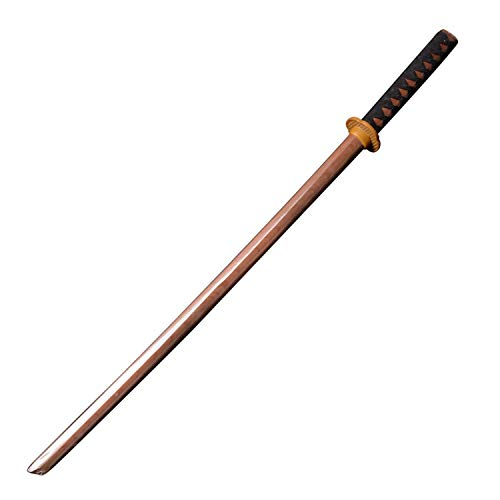 ZJG - Pure Wooden Japanese Katana Samurai Sword, Primary Color Version