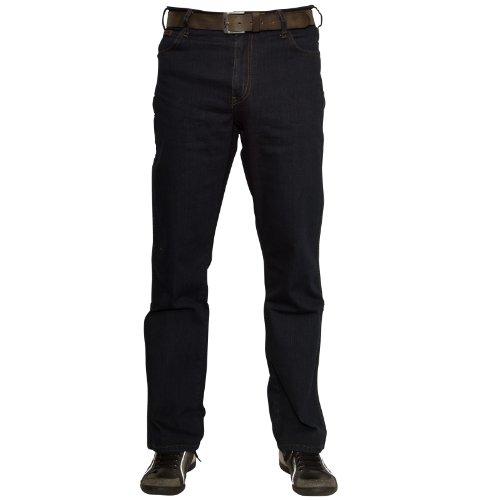 Wrangler Herren Texas Jeans, Blau-Schwarz, 44W / 32L