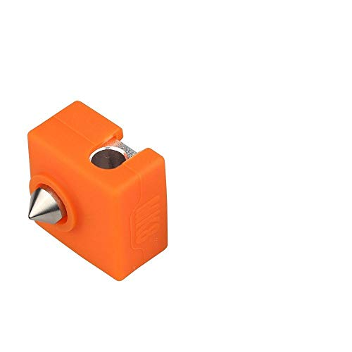 WNJ-TOOL, 1 stuk 3D-printer MK9 beschermhoes gemaakt van siliconen voor Creality CR-10,10S, S4, S5 Anet A8 MK7/MK8/MK9 Hotend
