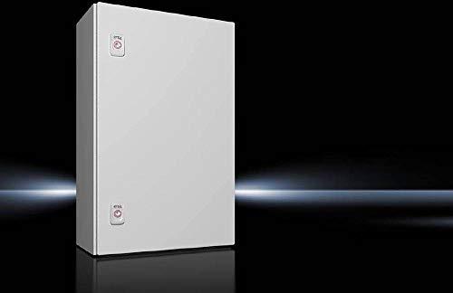 Rittal AX 1038.000 Schaltschrank 380 x 600 x 210 Stahlblech Lichtgrau (RAL 7035) 1St.