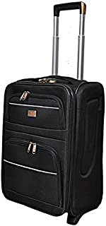New Travel Luggage Trolly 9951-20 Black Single Pc