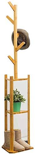 FVGH Boomtakken modellen Driehoekige basis Verticale kapstok Moderne eenvoud bamboe Studie slaapkamer woonkamer B