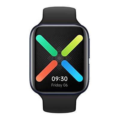 OPPO Watch 41mm - Smartwatch (Wear OS by Google, Watch VOOC Flash Charging, Duración de la batería de hasta 21 días) Negro