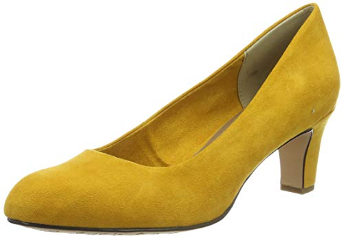Tamaris Damen 1-1-22418-23 684 Pumps, Gelb (MUSTARD 684), 38 EU