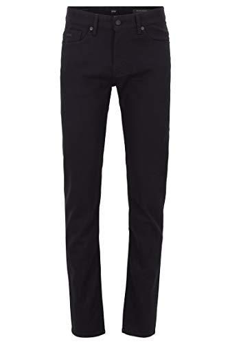 BOSS Herren Delaware BC-C Slim-Fit Jeans aus Stretch-Denim mit Rinse-Waschung