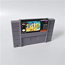 Game card EVO E.V.O. Search For Eden - RPG Game Card US Version English Language Battery Save Game Cartridge SNES , Game Cartridge 16 Bit SNES