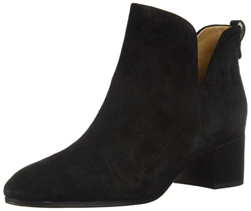 Franco Sarto Women's Reeve Ankle Boot, Black Suede, 5.5 M US