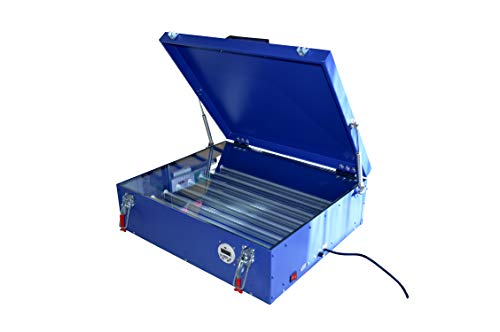 """110v Screen Printing Uv Exposure Unit Plate Burning with Cover & 8 Tubes Area 20""""24"""""""