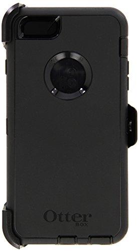 OtterBox Defender Series Case & Holster for Apple iPhone 6 Plus 5.5' - Black (Renewed)