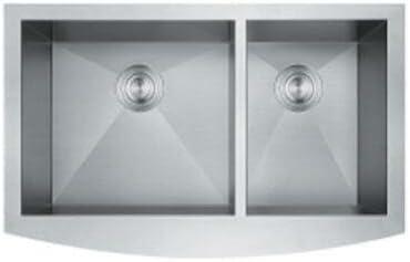 31 Farmhouse undermount apron stainless steel Double Bowl 60 40 kitchen sink 31 X 19 X 9 product image