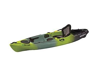 58293 Third Coast Avalon 100 Sit On Angler Kayak (Citron/Black/Gray) from KL Industries