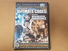 ACTION REPLAY ULTIMATE CHEATS PARA NEED FOR SPEED UNDERGOUND 2 PS2