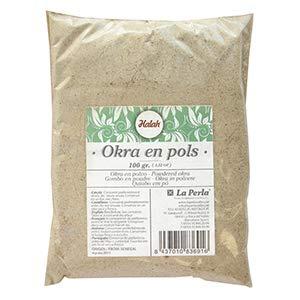 Halah- Okra-Pulver - Ideal für die Zubereitung von Saucen und Suppen - 100 Gramm
