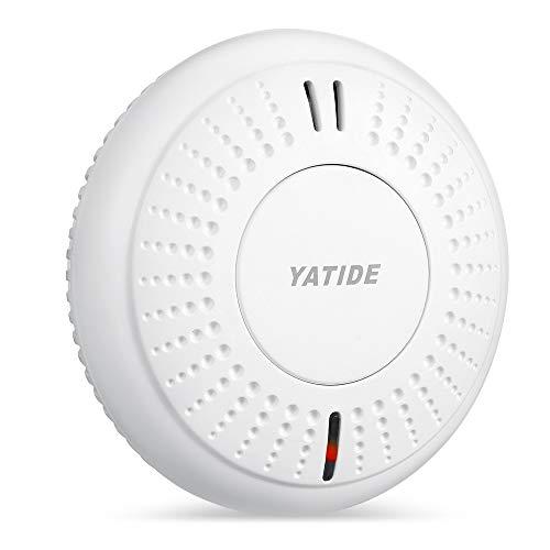 Rauchmelder, Yatide 10 Jahren Batterielaufzeit Feuermelder mit TÜV und EN14604 Zertifizierter,...