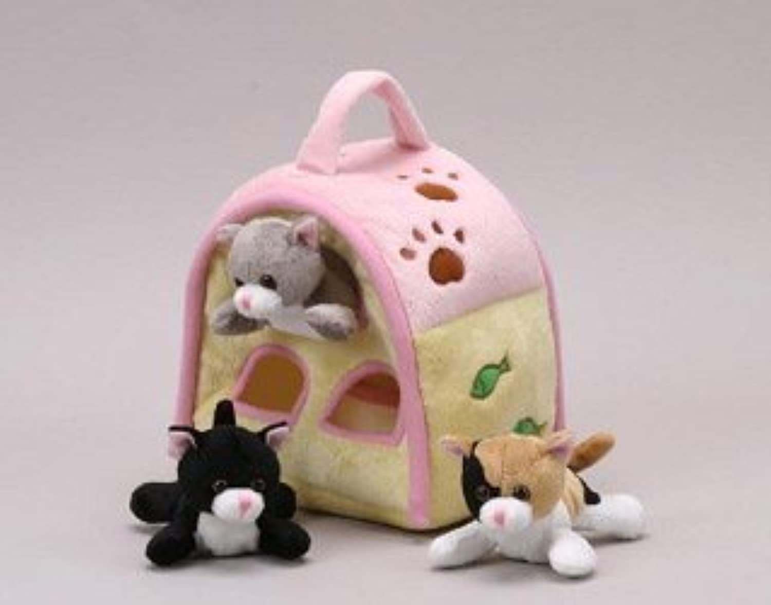 Cat Finger Puppet Play House 8 by Unipak by Unipak