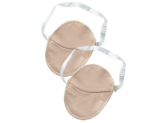 SUPVOX 2 Pair of Underarm Sweat Pads Reusable Armpit Shields