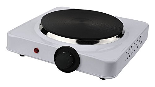 TKG EKP 1000 KALORIK Plaque de cuisson simple Blanc 1500 W