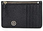 Tory Burch Women's Robinson Top Zip Card Case