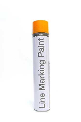 Markierfarbe - Inhalt 750 ml, VE 6 Dosen - gelb, ähnlich RAL 1023 - Bodenfarbe Farbdose Farbdosen Farbe Farbmarkierer, Farbe Kennzeichnungsfarbe Kennzeichnungsfarben Markierfarben Markiergerät, -farbe Markierung Parkplatzmarkierung Sprühfarbe